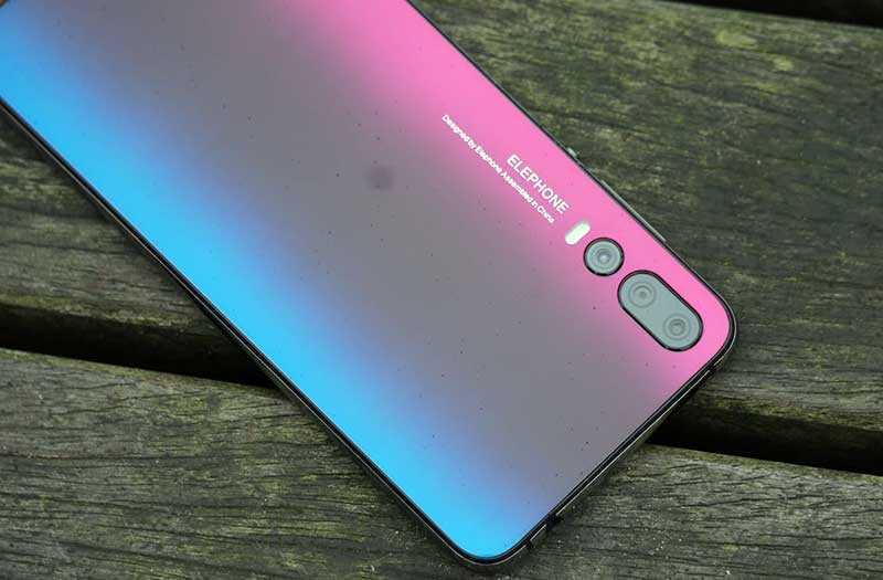Elephone A5 сзади
