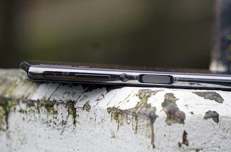 Elephone A5 сканер отпречатка