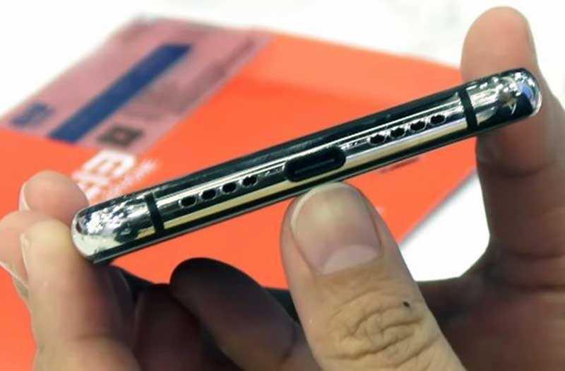 Elephone A5 порт