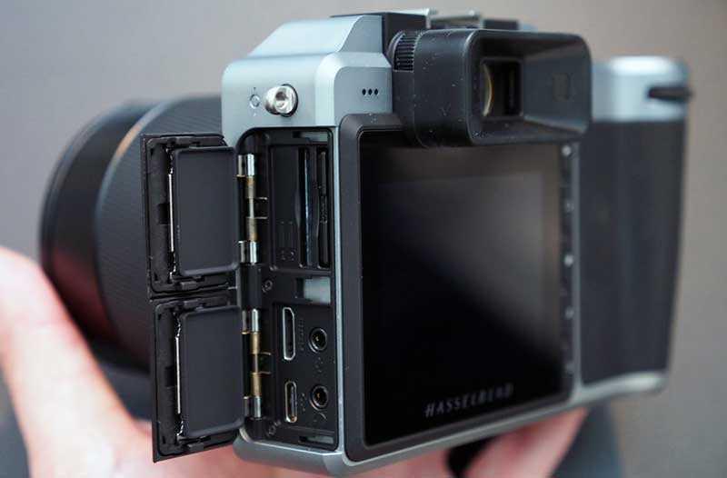 Hasselblad X1D-50c отсеки