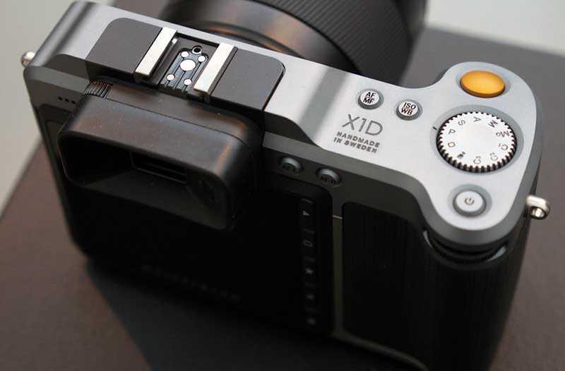Hasselblad X1D-50c видоискатель