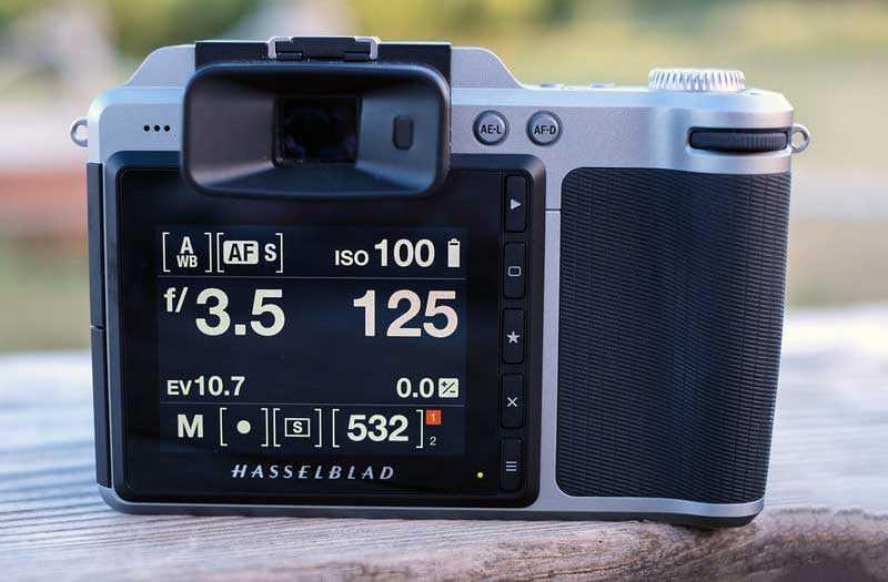 Hasselblad X1D-50c экран