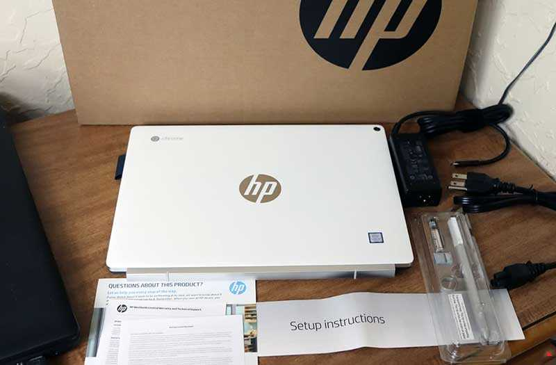Характеристики HP Chromebook x2