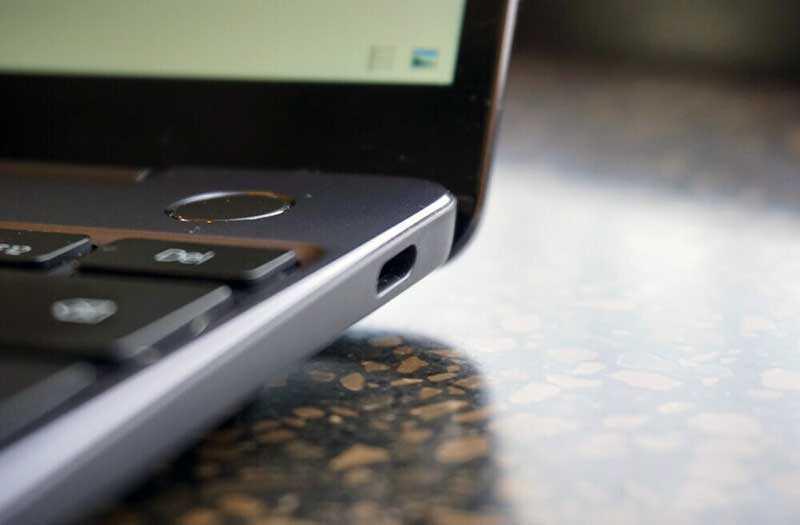 Huawei MateBook 13 порты