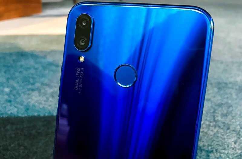 Huawei Nova 3i производительность
