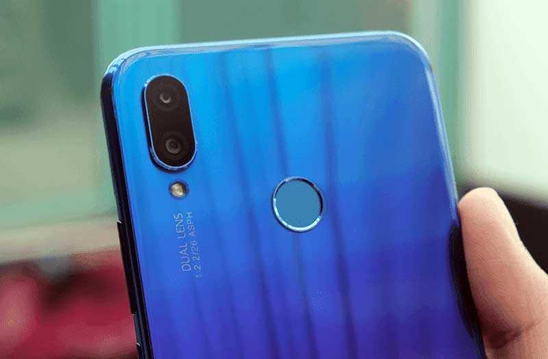 Huawei Nova 3i камеры