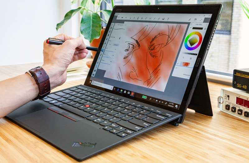 Lenovo ThinkPad X1 Tablet в работе
