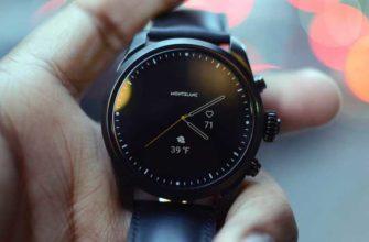 Обзор Montblanc Summit 2: классические смарт-часы — Отзывы TehnObzor