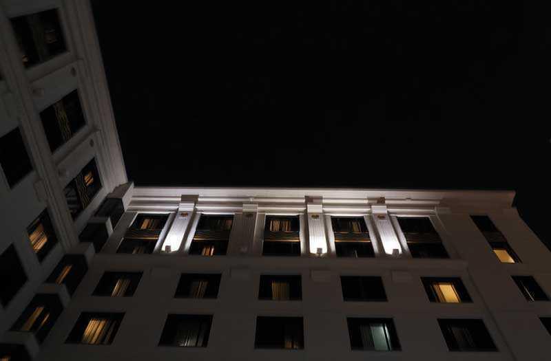 Olympus OM-D E-M1X ночная съёмка