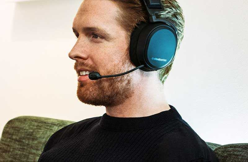 SteelSeries Arctis Pro Wireles не только для игр