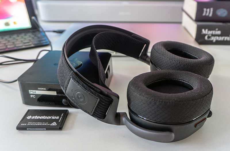 SteelSeries Arctis Pro Wireles звук