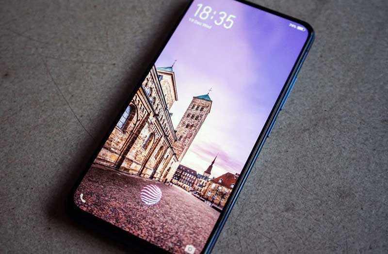 Vivo NEX 2 основной экран
