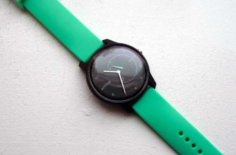 Withings Move отслеживание