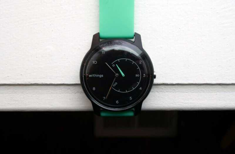 Обзор Withings Move: часы с замаскированным трекером — Отзывы TehnObzor