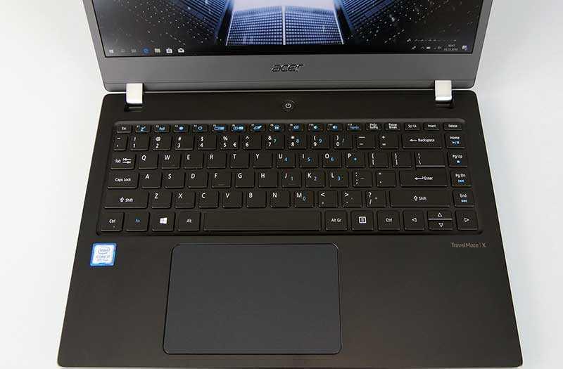 Acer TravelMate X3410 клавиатура