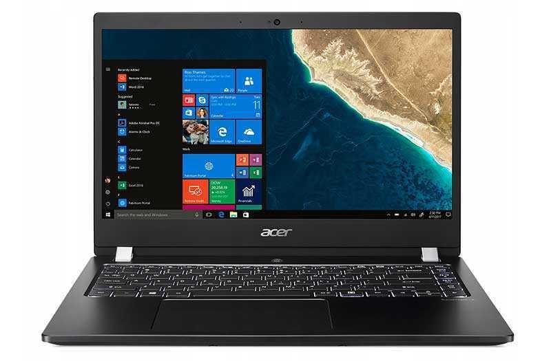 Acer TravelMate X3410 экран
