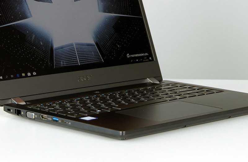 Acer TravelMate X3410 графика