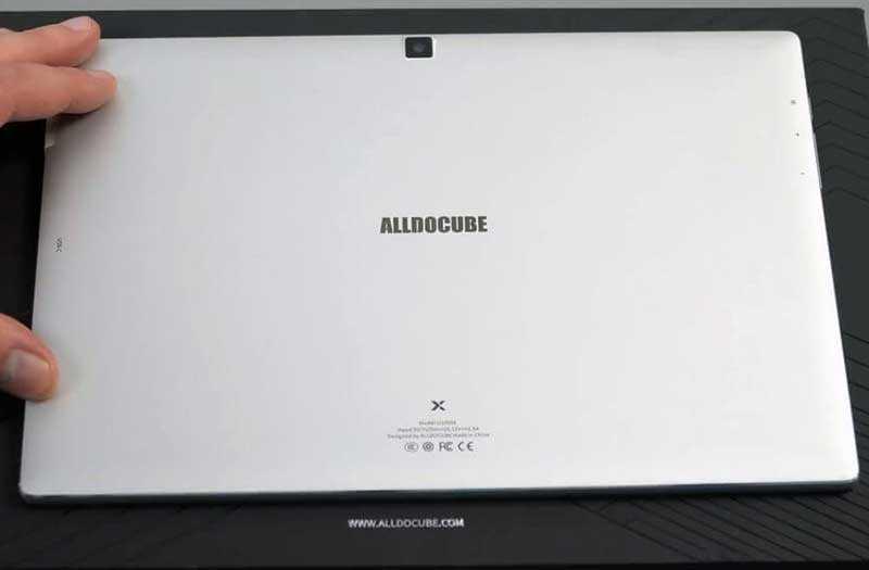 Alldocube X дизайн