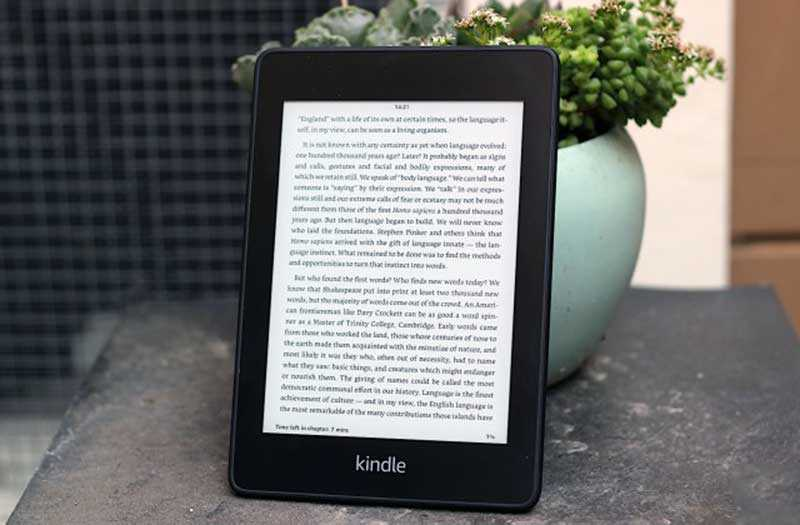 Обзор Amazon Kindle Paperwhite 2018