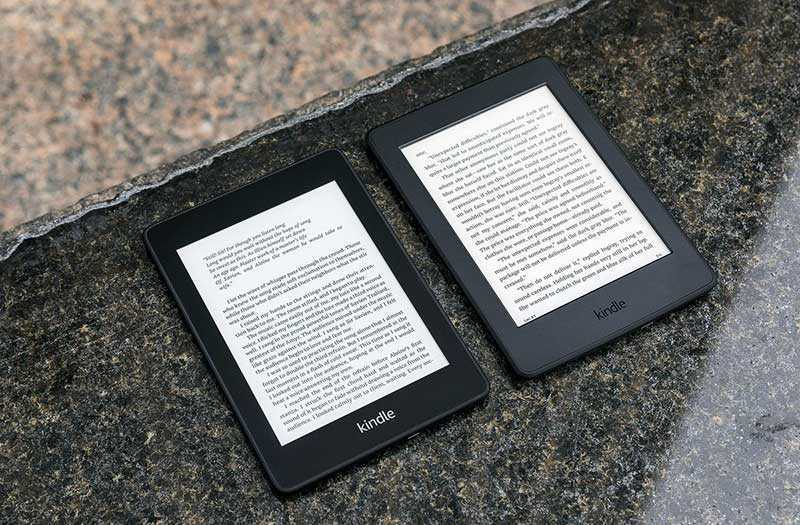 Amazon Kindle Paperwhite 2018 память
