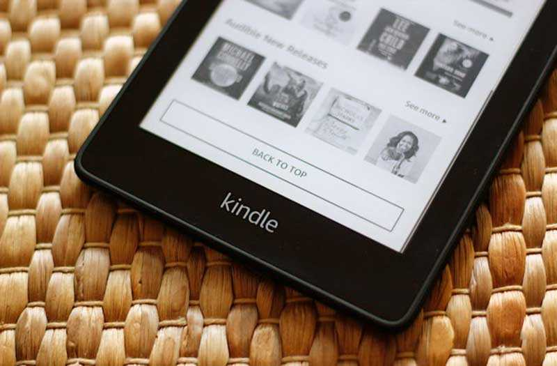 Дизайн Amazon Kindle Paperwhite 2018