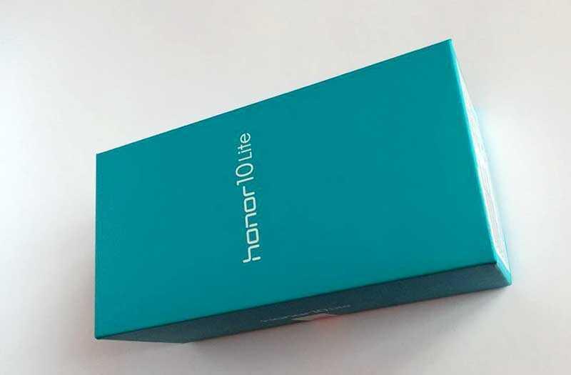 Honor 10 Lite из коробки