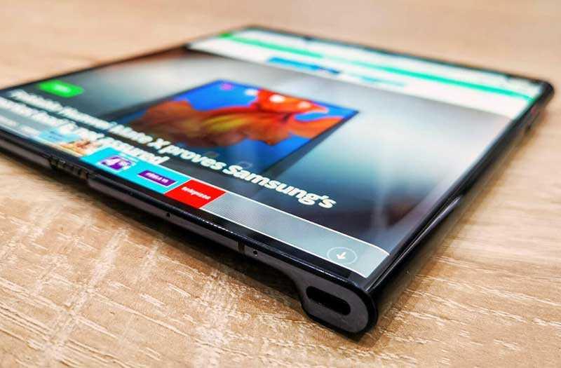 Huawei Mate X экран