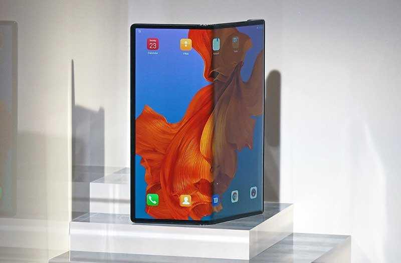 Huawei Mate X дисплей