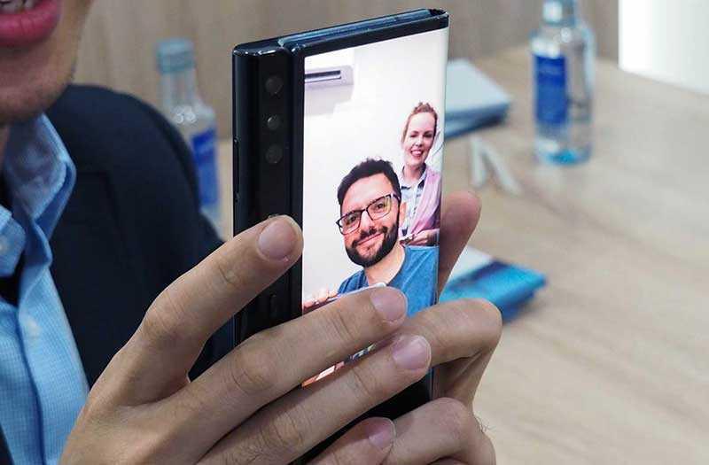 Камера Huawei Mate X