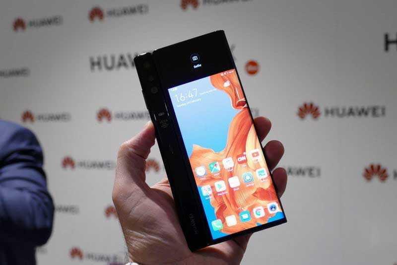 Складной Huawei Mate X