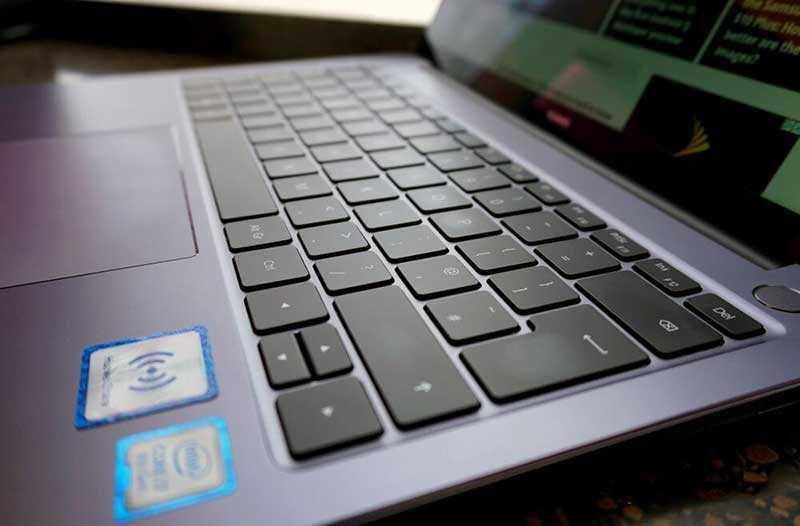 Huawei MateBook 14 клавиатура