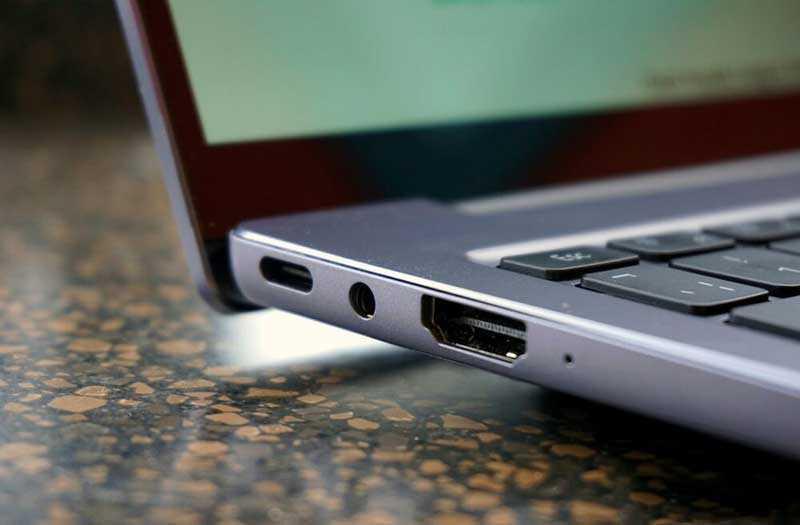 Huawei MateBook 14 подключения