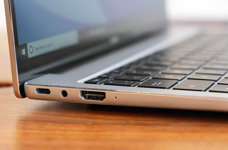 Huawei MateBook X Pro 2019 порты