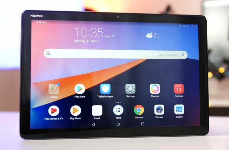 Huawei MediaPad M5 Lite интерфейс