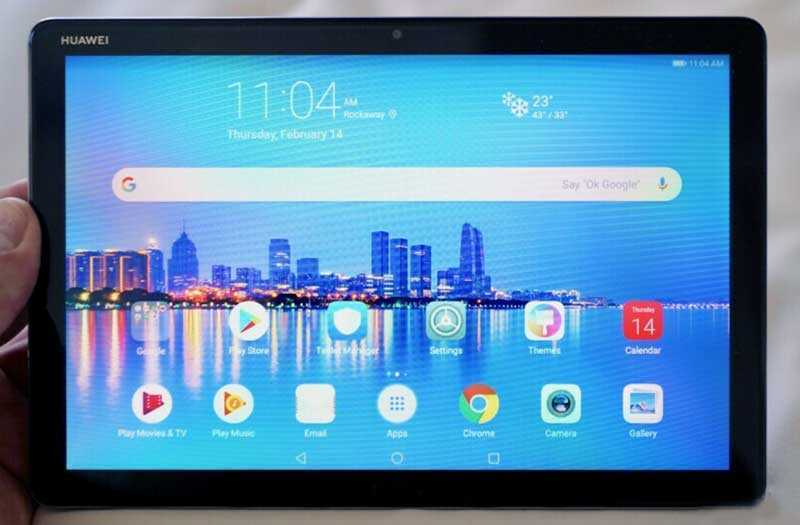 Huawei MediaPad M5 Lite дисплей