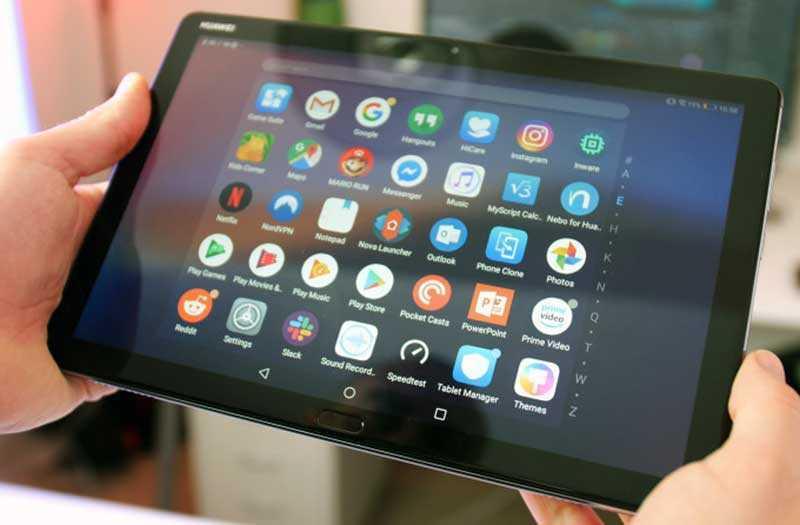 Huawei MediaPad M5 Lite система