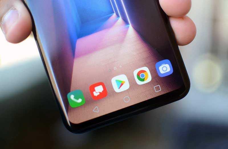 LG G8 ThinQ дисплей