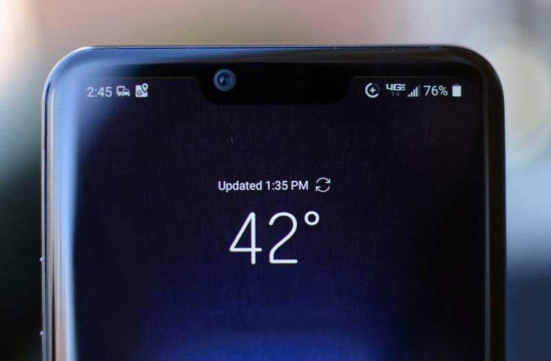LG G8 ThinQ камера безопасности