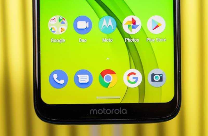 Moto G7 дисплей