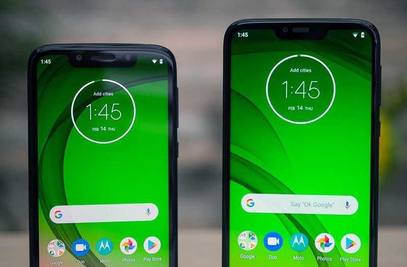 Moto G7, G7 Plus, G7 Power и G7 Play отзывы