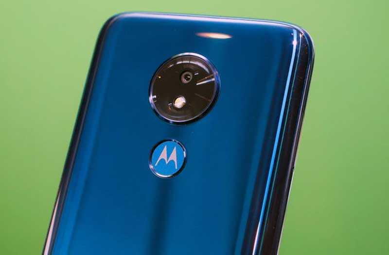 Moto G7 сканер отпечатков