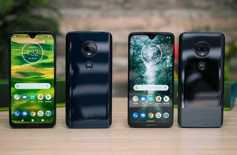 Версии и модели Motorola Moto G7