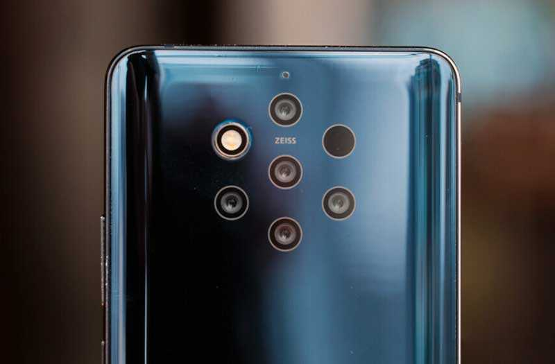 Nokia 9 PureView 5 камер