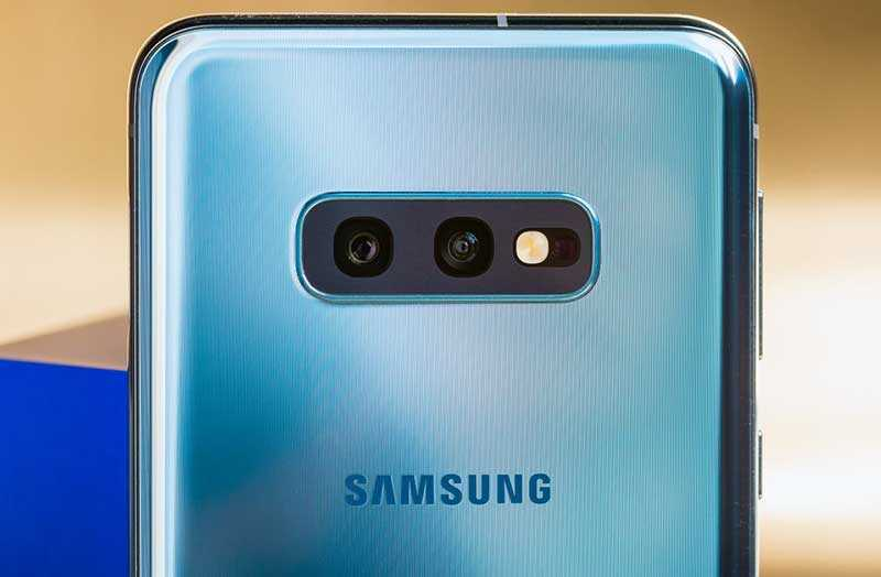 Samsung Galaxy S10e камеры