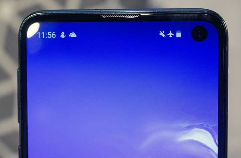 Samsung Galaxy S10e экран