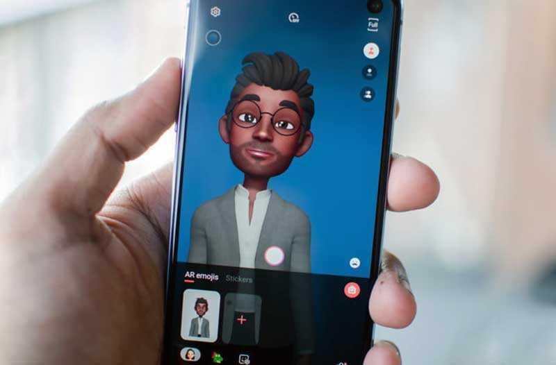 Samsung Galaxy S10e портретный режим