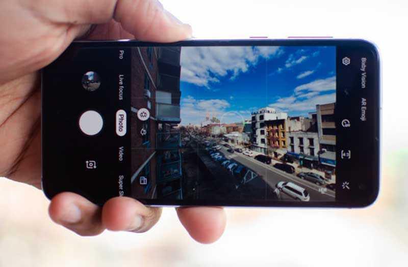 Samsung Galaxy S10e камера