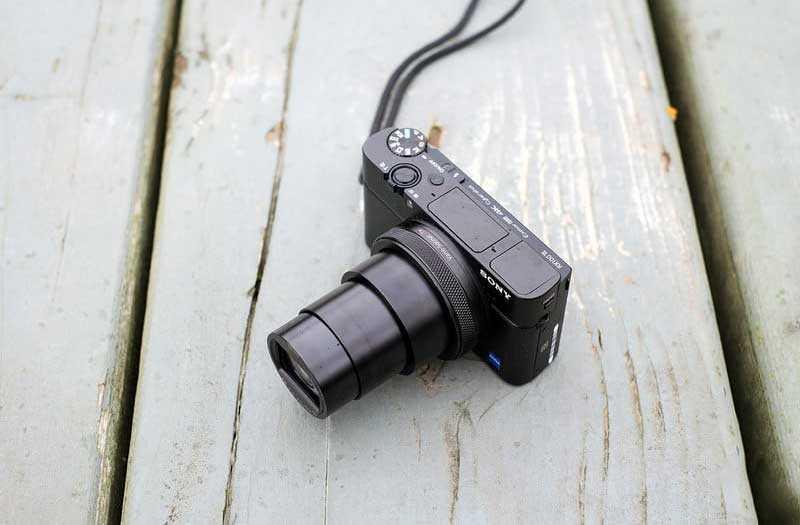 Sony RX100 VI объектив