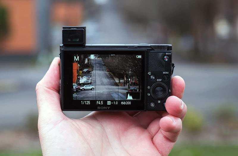 Sony RX100 VI фокус