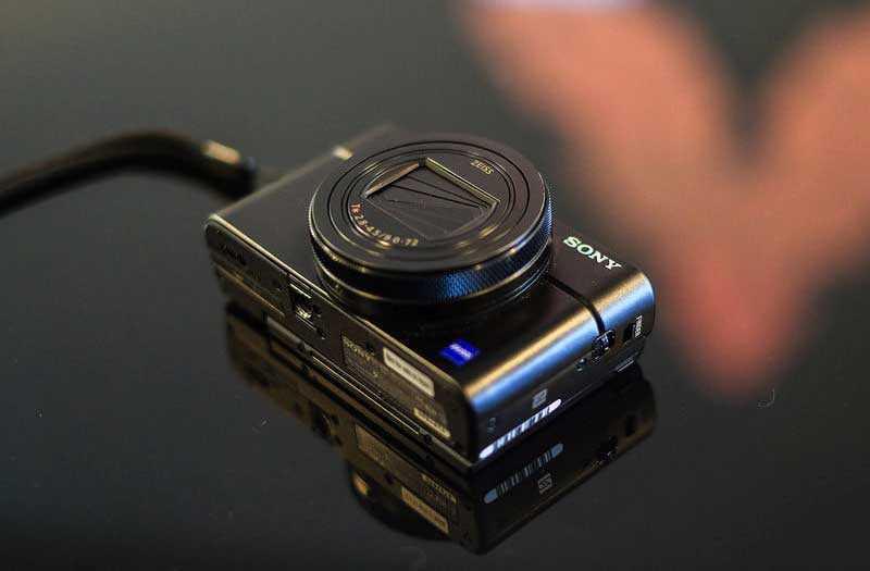 Sony RX100 VI конструкция